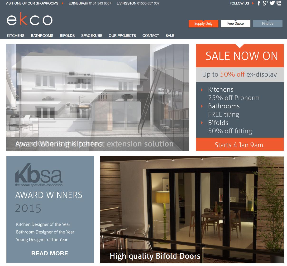 EKCO – Client SEO Case Study