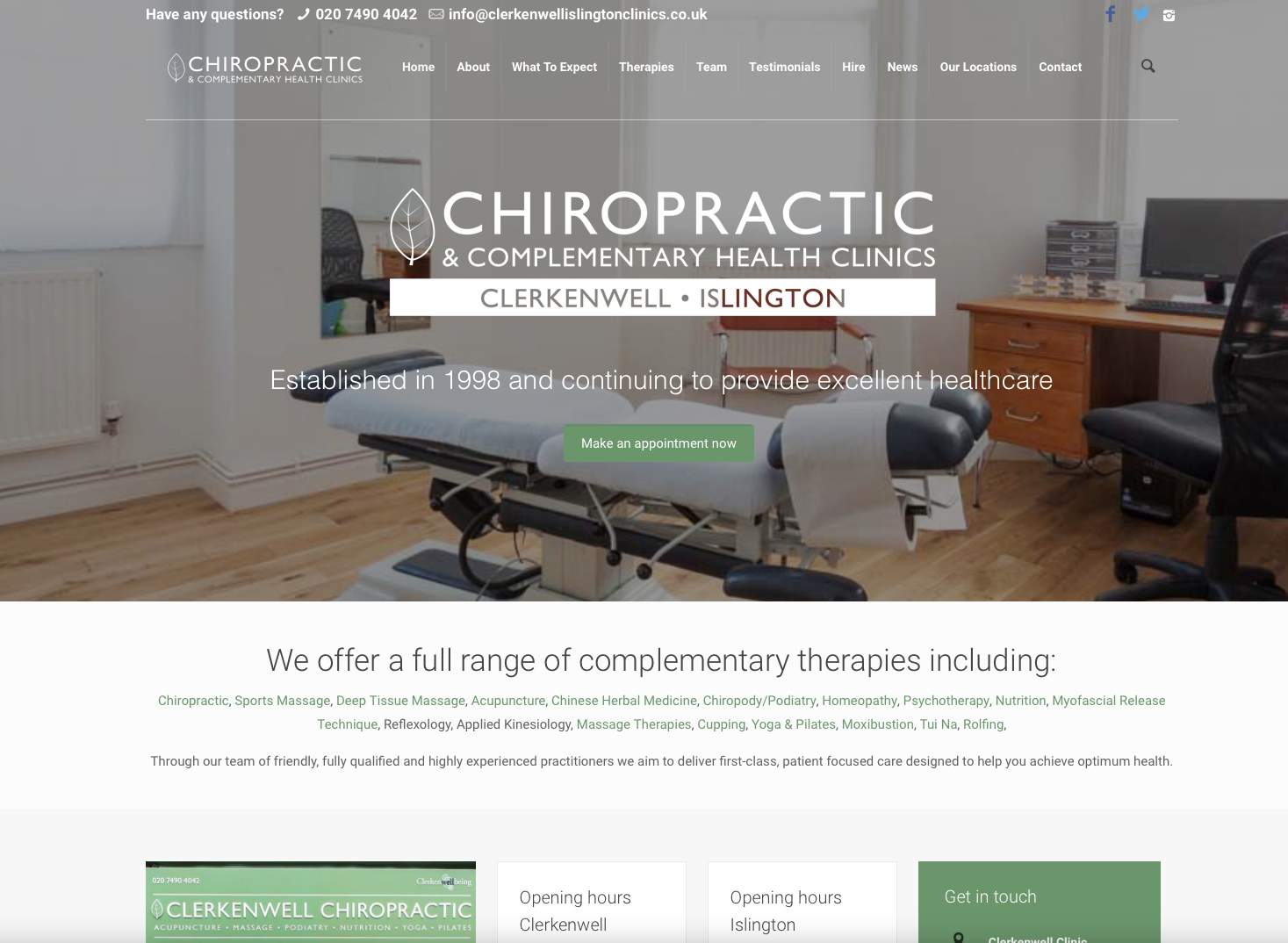 SEO for Chiropractors
