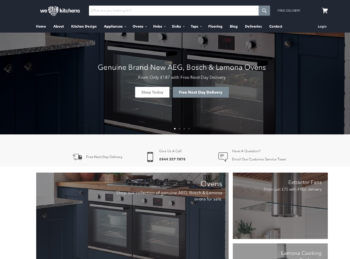 We Love Kitchens SEO + Adwords Campaign Management